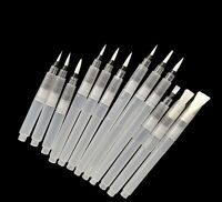 12pcs Refillable Watercolour Brush Pens - Artist, Ink, Calligraphy, Painting