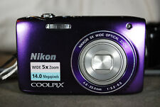 Excellent Nikon COOLPIX S3100 14MP Compact Digital Camera - Choice of Colours
