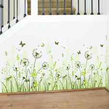 Dandelion Feet Line Home Room Decor Removable Wall Sticker Decal Decoration