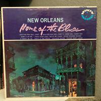 "NEW ORLEANS Home Of The Blues (MINIT Rec. LP-0001) - 12"" Vinyl Record LP - VG+"