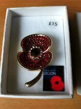 Poppy Pin Badge - Brooch - brand new and boxed .