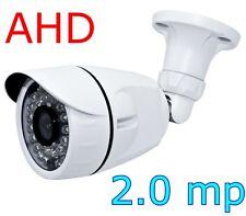 TELECAMERA AHD 2,0 MP DA ESTERNO PER VIDEOSORVEGLIANZA 36 LED A INFRAROSSI 3,6mm