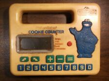 Vintage 1985 Fisher Price Cookie Counter Cookie Monster Sesame Street