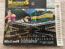 Minitrains Minitracks #2114 N/HOn 2 1/2railroad crossing
