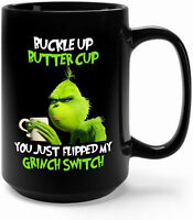 You Just Flipped My Grinch Switch Ceramic Coffee Mug - Perfect Christmas Mug