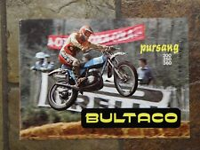 Bultaco Pursang 200 / 250 /360 Sales Brochure, Original NOS