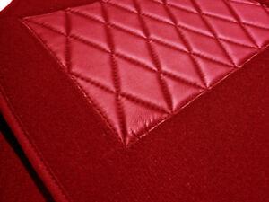 Dark red velours carpet kit for Jaguar Mark X (MK10) & 420G 1961-1970