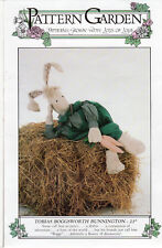"Tobias Boggsworth Bunnington: Uncut Pattern Garden #Dl-97 Sewing Craft 21"" Doll"