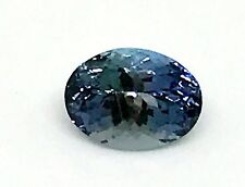 Natural 1.65ct Tanzanite Oval Cut New Purple Blue Gemstone Jewelry AA+ USA