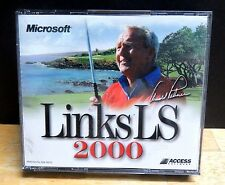 Links LS 2000 (3PC-CDs, 1999) for Windows 95/98/NT Very Good Condition
