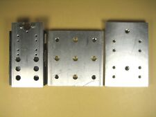 Misc Lot of 3  Aluminum Optical Mounting Plates