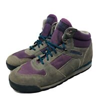 Vintage Merrell Quest Hiking Boots Women's 8 Suede 90's Purple High Tops Genuine