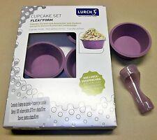 Lurch Lu 85073 6 Stampi per Cupcakes in Silicone platinico con Scavino