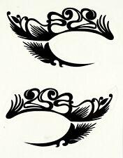 Einmal-Tattoo Temporary Augen Tattoo Wasserdicht B