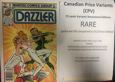 Dazzler (1982) # 22 (vf) Precio canadiense variante (CPV) Rogue love her as Villano