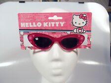 Hello Kitty Toddler Girl 100% UVA-UVB Sunglasses Pink Shatter Resistant PC Lens