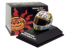 Minichamps Valentino Rossi Helmet - MotoGP Valencia 2005 1/8 Scale