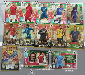 Match Attax Festive Cards Champions League 21/22 2021/22 - Choose From All -