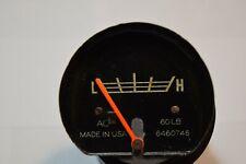 1967-1972 CHEVROLET GMC JIMMY BLAZER OEM C/K 10 20 30 DELUXE 60 lb OIL GAUGE
