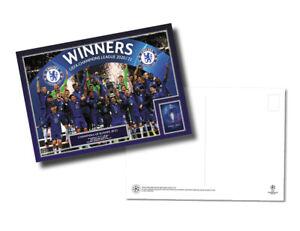 2020 Champions League Final Chelsea v Manchester City UEFA Postcard Range