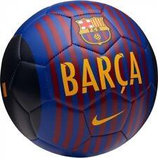 Nike Fc Barcelona Pitch Se 2018 - 2019 Soccer Ball Brand New Blue / Red Size 5