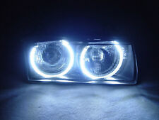 DEPO UHP LED Angel Eyes Euro ZKW Projector Glass Headlight For BMW E36 3 Series
