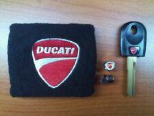 chiave vergine Ducati + polsino  + tappini