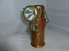 BRASS SAFETY LAMP MINERS/FIREFIGHTERS (1)