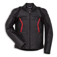 New Dainese Ducati Stealth C2 Leather Jacket Men's EU 50 Black #981031950