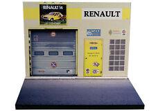 Diorama présentoir Renault - Garage G. Géret - 1/43ème -  #43-2-A-A-020