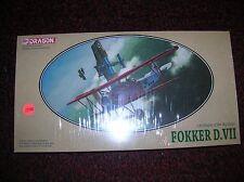 """DRAGON #5905 """" Fokker D VII """" """" 1/48 sealed list $39.00 lot # 10441"""