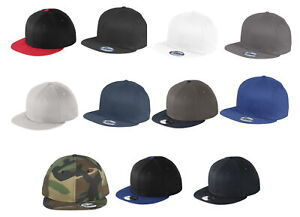 New Era 9Fifty 950 Flat Bill Snapback Hat / Cap NE400 Blank - Choose a Color