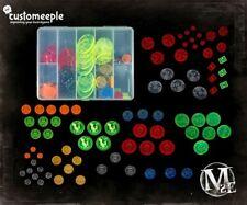 Malifaux Token Box set - Arcanists Custom Meeple Brand New