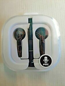 Claire's Ear Buds Style Headphones w/ Mic Audio Jack 3.5mm Stereo