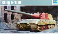 Trumpeter 1:35 Stug E-100 German Tank Model Kit