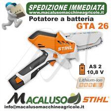 STIHL GTA 26 Set Potatore con Batteria AS 2 e Caricatore AL 1 - Arancione/Nero