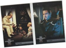 "Babylon 5 Season 4 (Four) - 2 Card ""TNT In The Beginning"" Chase Set T1-T2"