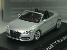Wiking Audi TT Roadster, silber, dealer model, PC 512 - 1:87