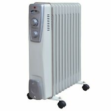 Trendline Öl Radiator 11 Rippen 2500 W Elektroheizung Heizkörper Elektroheizer