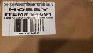 2019 Panini Fortnite Series 1 Hobby Case Sealed
