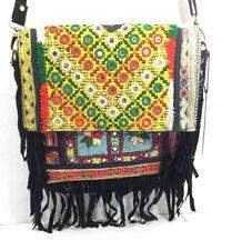 Vintage Addiction Boho Chic Fringed Messenger Bag Shoulder Bag New With Tags NWT
