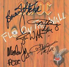 AC/DC Fly on the Wall Signed Full group CD AFTAL OnlineCOA