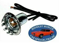 GM Park License Reverse Back Up Tail Light Lamp Bulb Wiring Harness Socket H
