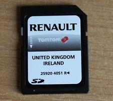 GENUINE RENAULT TOMTOM NAVIGATION SAT NAV SD UK AND IRELAND 259204051R