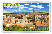 BURGOS SPAIN MOD2 FRIDGE MAGNET SOUVENIR IMAN NEVERA