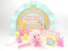 Vintage 1986 G1 MLP My Little Pony BABY BONNET SCHOOL OF DANCE Tiddley-Winks (I)