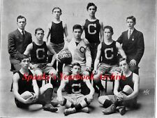 1909 New York City Dewitt Clinton High School Yearbook~Photos~History~Basketball