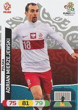 ADRIAN MIERZEJEWSKI # POLAND POLSKA CARD PANINI ADRENALYN EURO 2012