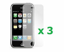3 x New Anti-Glare Screen Protector for Apple iPhone 3G/3GS