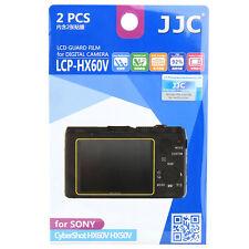 JJC LCP-HX60V LCD Camera Screen Display Protector for SONY CyberShot HX60V HX50V